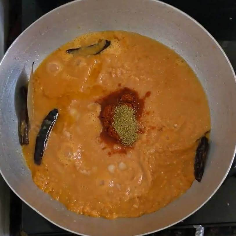 Butter Egg Curry | Egg Makhani | How to make Buttery Egg Masala Curry - Add waterButter Egg Curry | Egg Makhani | How to make Buttery Egg Masala Curry - Add coriander powder